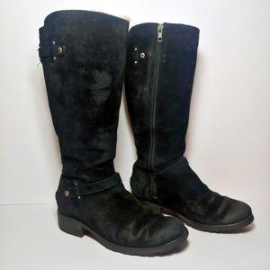 UGG Jillian Tall Boot Black -- Short Heel - 8.5